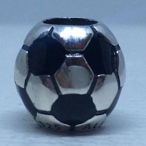New Authentic Pandora charm soccer ball #790406